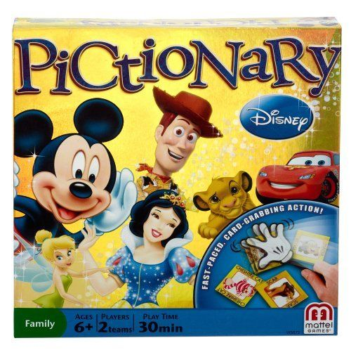 Disney Pictionary Board Game by Disney Frozen