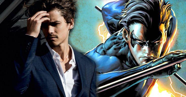 Brenton Thwaites Is Nightwing in DC's Teen Titans TV Show -- Greg Berlanti's Titans TV series has cast Pirates of the Caribbean: Dead Men Tell No Tales star Brenton Thwaites as Dick Grayson. -- http://tvweb.com/titans-tv-series-casting-brenton-thwaites-dick-grayson/