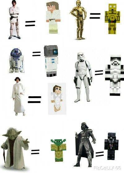 22 best star wars minecraft skins images on pinterest minecraft star wars minecraft skins sciox Images