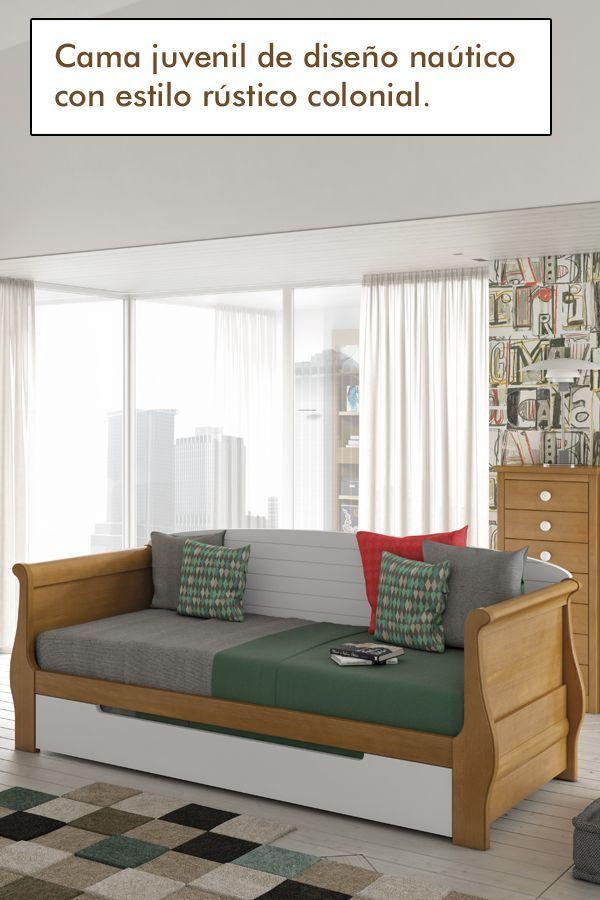 Cama Juvenil Habitaciones Juveniles Muebles Dormitorios Juveniles