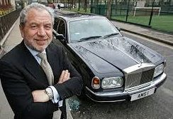Lord Alan Sugar #LefthandersIntl