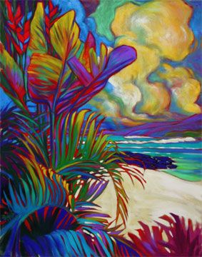 "Rick Sharp "" KOHALA COAST "" I love the colors!"