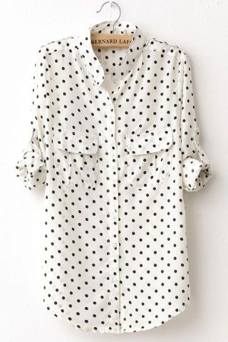 polka dot print | wardrobe staple