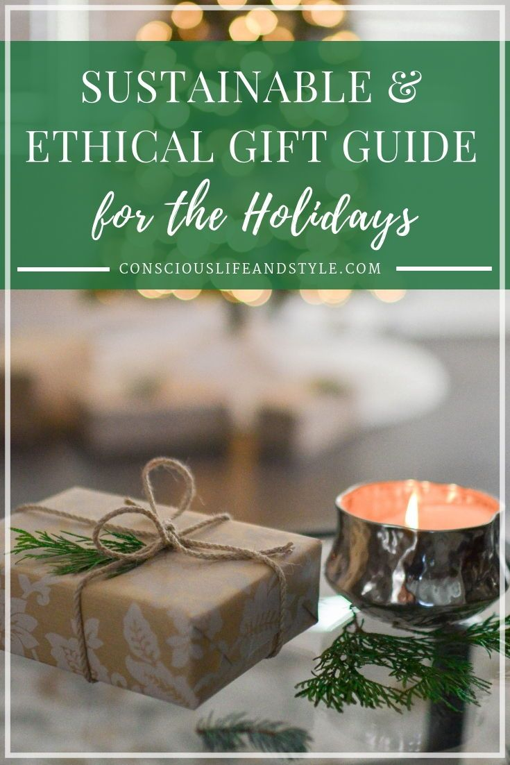 Sustainable and Ethical Gift Ideas for the Holidays // Eco