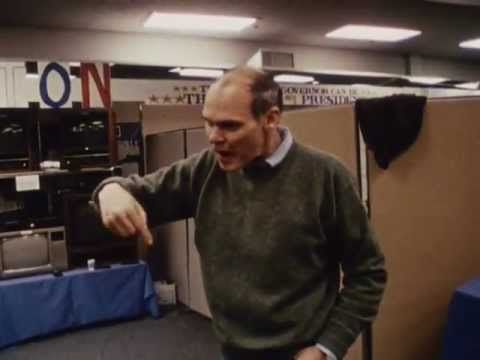 THE WAR ROOM: 1992 presidential election was a triumph not only for Bill Clinton but also for the new breed of strategists who guided him to the White House—and changed the face of politics in the process. For this thrilling, behind-closed-doors account of that campaign, renowned cinema verité filmmakers Chris Hegedus and D. A. Pennebaker captured the brainstorming and bull sessions of Clinton's crack team of consultants—especially James Carville and George Stephanopoulos, who became media…
