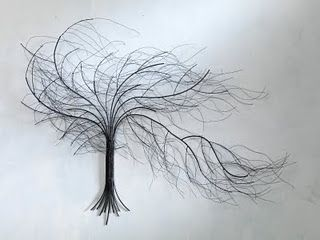wire tree wall art