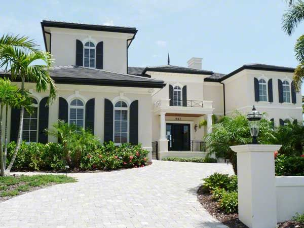 White Exterior Stylish Home Black And White House Exterior Design  White House .