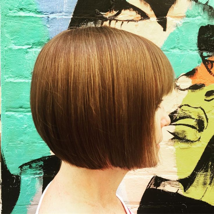BEAUTIFUL BOB • A classic shape for our lovely client Bridget! Cut by Faye