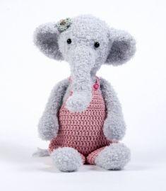 Crochet Pattern Elephant Olga by Cute Dutch