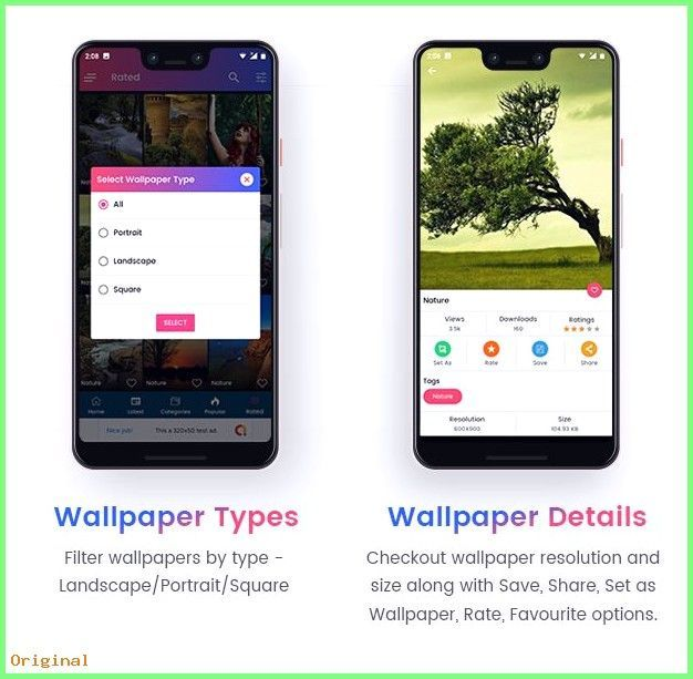 Top 5 Best Android Wallpaper Apps Of 2018 Youtube Hd Wallpaper App Android Wallpaper Wallpaper App