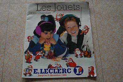 Catalogue Jouets Leclerc 1990