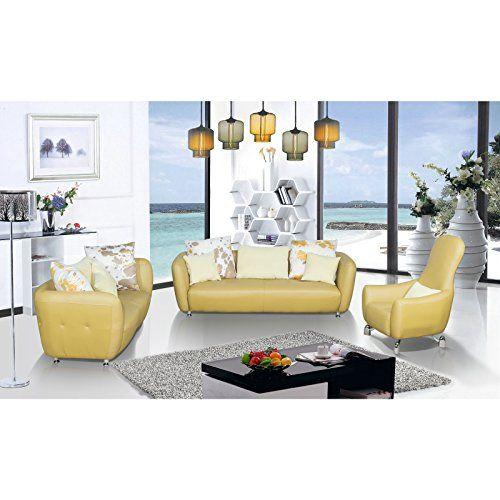 us pride furniture 3 piece top grain leather living room sofa rh pinterest com