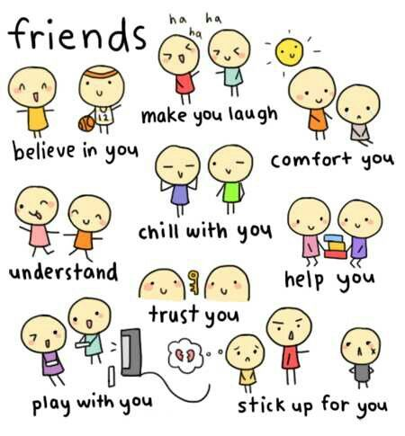 Friend for me are..m