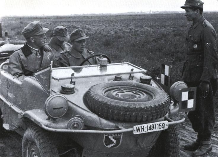 VW typ 166 Schwimmwagen - 1943