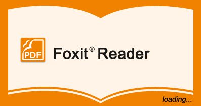 Foxit Reader Portable Freeware Small and Fast PDF Reader Free Download