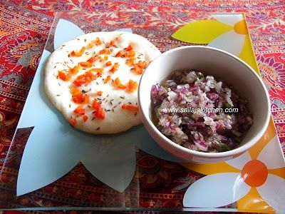 images for Raw Chilli Onion Chutney - A Simple Chutney Recipe.