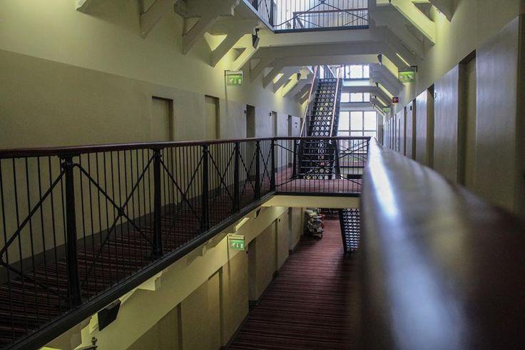 Prison Hotel Helsinki. Staying in - a travel break.