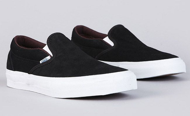 Vans Slip-On Pro - Black / Mahogany | KicksOnFire
