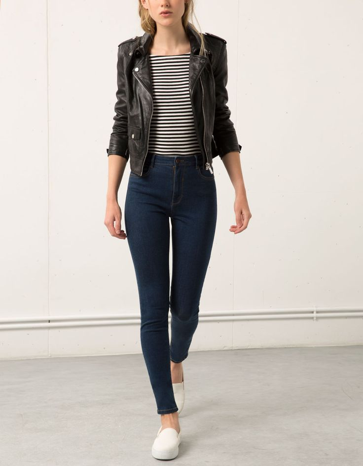 Jeans Skinny high waist - Jeans - Bershka Italy