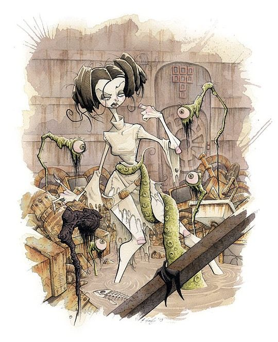 All Eyes On You Princess Leia Star Wars By Gris Grimly
