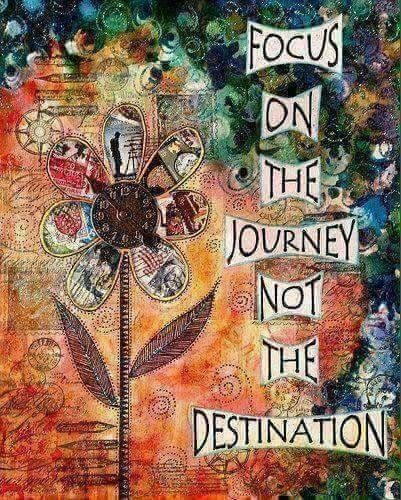Focus on the journey not the destination... WILD WOMAN SISTERHOODॐ #WildWomanSisterhood #wildwoman #wildwomanmedicine #yoga #embodyyourwildnature