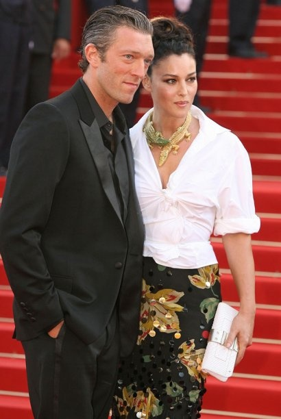 Cannes 2003.  Monica Belluci wearing a Crocodile necklace.