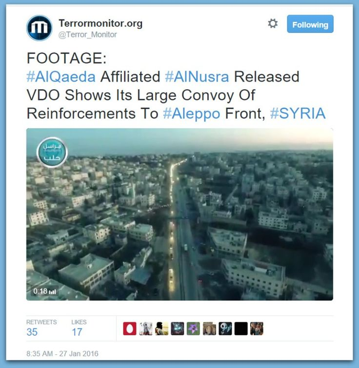 Al-Qaeda Affiliated Al-Nusra Front Video Shows HUGE Convoy Of Jihadi Reinforcements To Aleppo Front In Syria – BB4SP