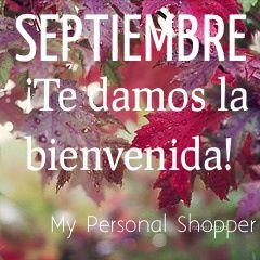 Septiembre! Bienvenido!