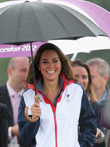 Kate in Team GB apparel at the Paralympics