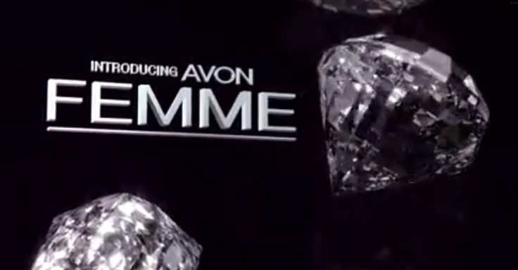 Pssst! Available in Brochure 6, a glam NEW fragrance that lets you SHINE LIKE a DIAMOND! Introducing Avon Femme perfume