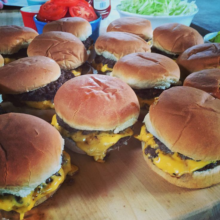 Homemade Freddys style burgers - The Pioneer Woman
