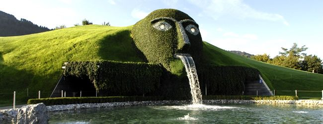 As a lover of crystal, this is a must! Swarovski Crystal Worlds in Wattens, Austria. Home of Swarovski crystal.