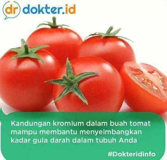 Kandungan Tomat Obat Alami Kesehatan Buah