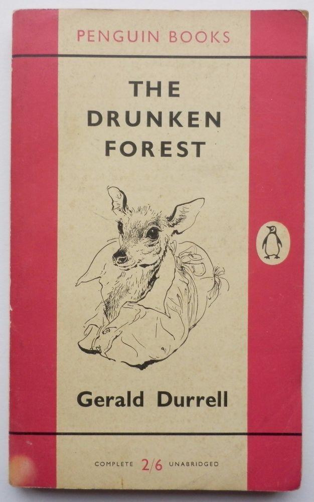 1st Edition Original Penguin Book - The Drunken Forest Gerald Durrell #1314