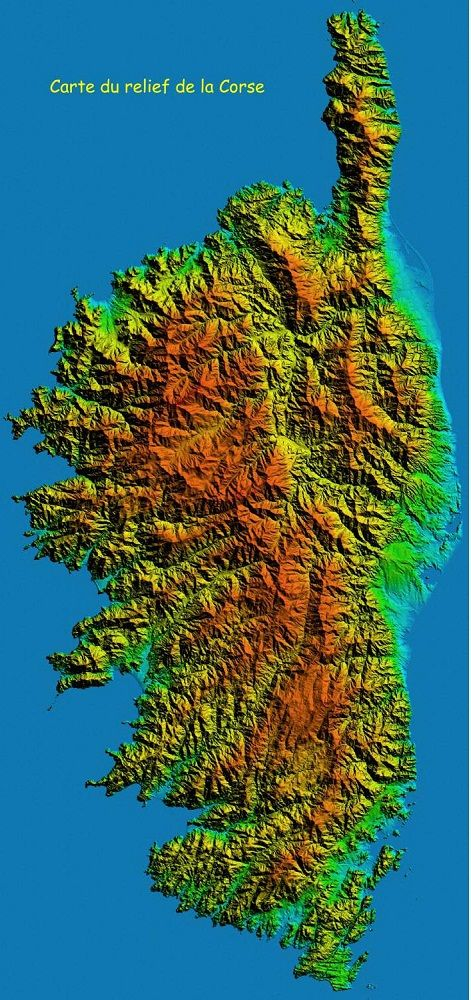 Beliebt Les 25 meilleures idées de la catégorie Corse carte sur Pinterest  WH63