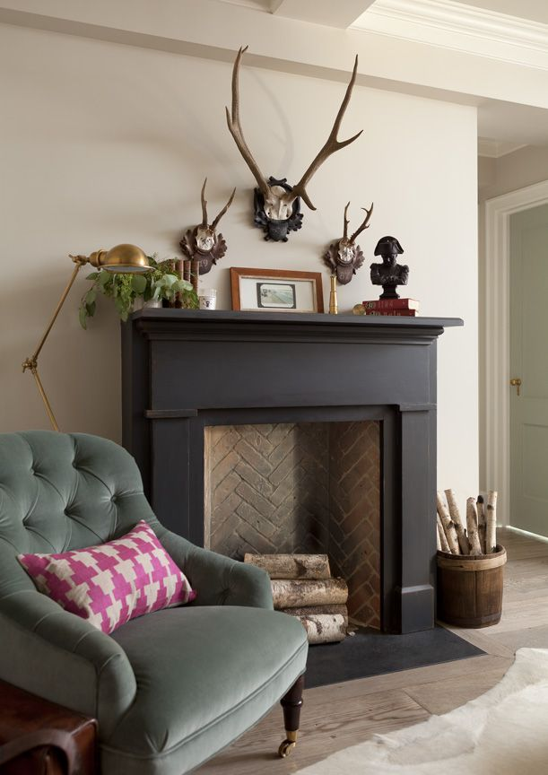 Best 25 Black fireplace ideas on Pinterest Black fireplace