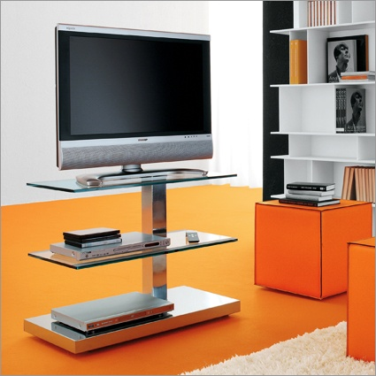 Perfect cattelan italia play C tv stand wheels by paolo cattelan
