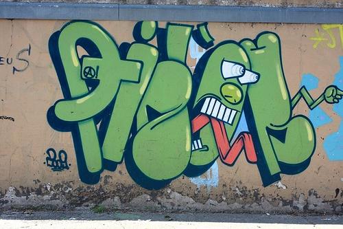 многие картинки имя лиза в граффити решили показать публике
