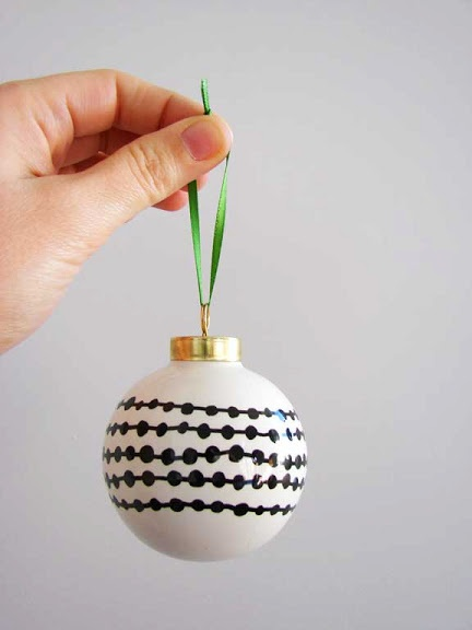 paint your own ornaments