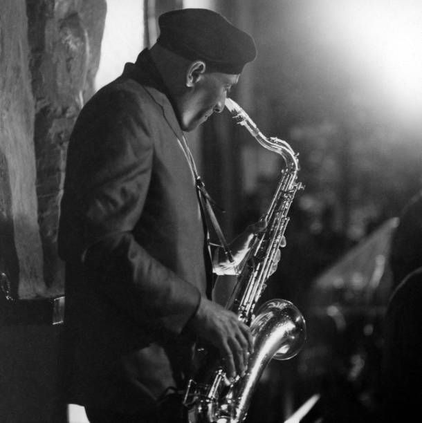 Sonny Rollins performs onstage for his album 'Sonny Rollins on Impulse!' which was recorded on July 8, 1965.