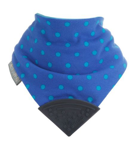 Cheeky Chompers Neckerchew Bib & Teether -  The World's first chewy dribble bib for teething tots.