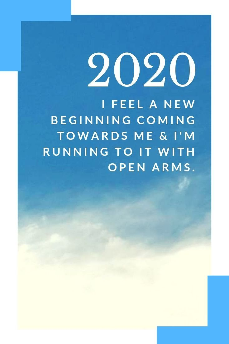 New year words images 2020 for January 1st 2020 I feel a