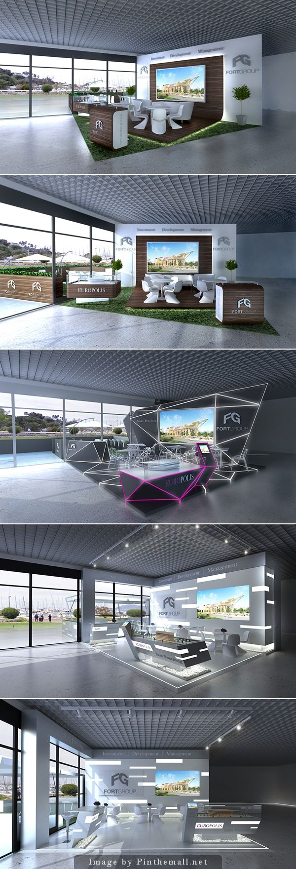 FortGroup Exhibit Brainstorm #installation #design #custom