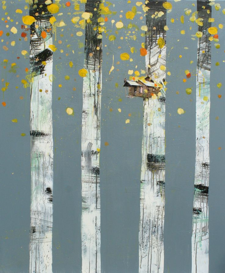Veronica Normann Jensen. Let`s build our house in the trees.