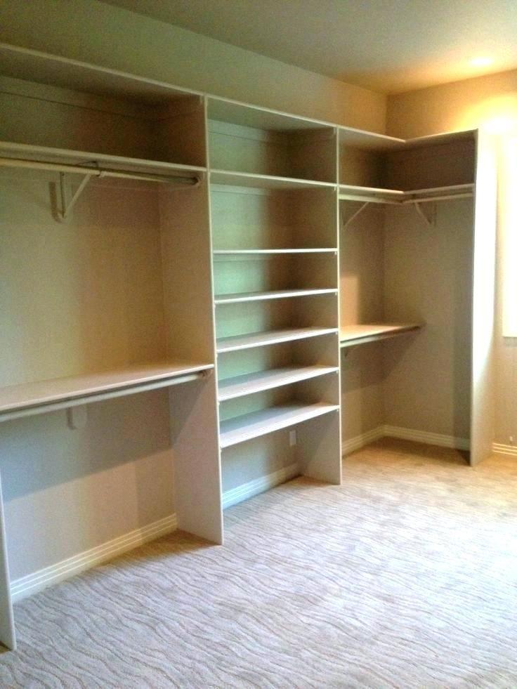 Built In Closet Ideas Home Ideas Easy Closet Shelves Closet