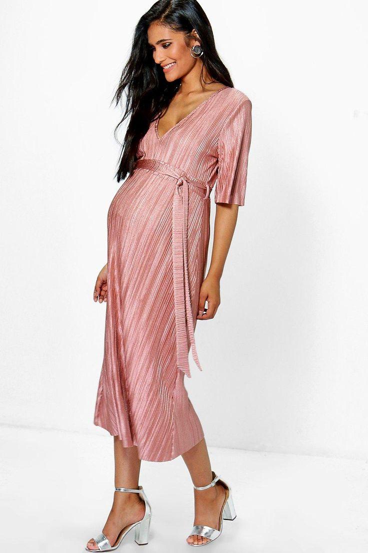 Lujoso Vestido De La Dama De Honor De Maternidad Motivo - Colección ...