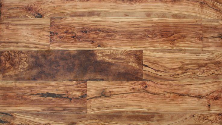 sobre de mesa de salón de madera de olivo