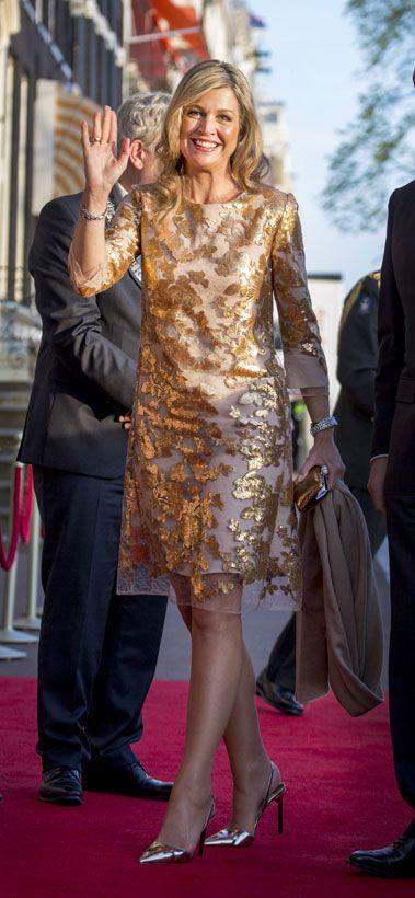 Reina Máxima de Holanda Acto: Concierto 'The Liberation', Amsterdam (Países Bajos). Fecha: 5 de mayo de 2016.