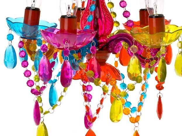 Żyrandol Gypsy, kolorowy, mały LOFHOME, prezenty, wystrój domu, zegary, lampy, ramki, gadżety imprezowe