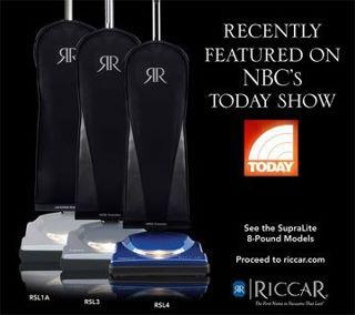 A major feature that makes the #Riccar #Vacuums superior to their competition is the faith the company has on their durability. The systems are engineered to have long life spans with minimal repairs. Riccar offers 3 to 5 yr bumper to bumper warranty on the cleaner. Riccar vacuums have proven themselves that experience translates into satisfied users